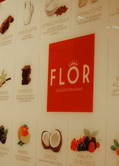 Flor - Gelaterie - design by RPM Proget