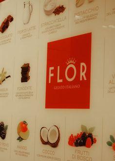 Flor - Gelaterie - design by RPM Proget