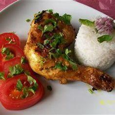 Tandoori de poulet
