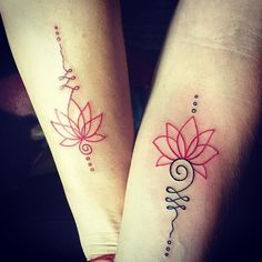 Finally got the tattoo I've been wanting with @jenhilman! Aren't we adorable?…