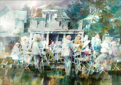 Lakeside Artists by Frederick C. Graff, TWSA Master