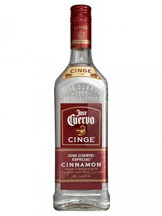 Jose Cuervo Cinge cinnamon infused tequila. Interesting, subtle cinnamon taste with the tequila bite at the end.