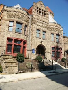 Carnegie Library in Braddock, Pennsylvania