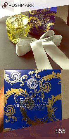 One day sale 🎉Versace yellow diamond intense Brand new and unused Versace yellow diamond intense perfume - 3.0 fl oz Versace Other