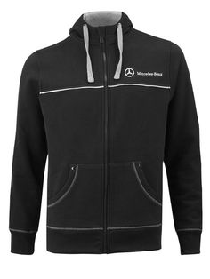 """Men's sweat jacket Trucker B67871103 Men's Trucker sweat jacket. Anthracite. 66% cotton / 34% polyester. """"TRUCKER DISTRICT"""" applique on back. Front zip fastening. Reflective piping on front and back. Sizes S-XXXL.:"""