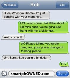Milf. - - Autocorrect Fails and Funny Text Messages - SmartphOWNED. WOW