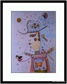 Ilustração Título: Homenagem ao pai do Movimento Armorial Ana Cristina Maciel 2014