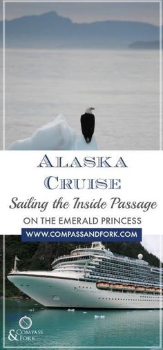 A review of the 7 day Rt from Seattle Alaska Inside Passage Cruise aboard the Emerald Princess buty Princess Cruises- stops Ketchikan, Juneau, Skagway and Victoria Alaska Cruise Sailing the Inside Passage on the Emerald Princess https://www.compassandfork.com/alaska-cruise-sailing-the-inside-passage-emerald-princess/