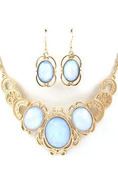 Prussian Blue Anna Necklace | Emma Stine Jewelry Necklaces