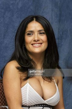 Actress Salma Hayek speaks with the media at the Beverly Wilshire Hotel on November 16, 2006 in Los Angeles, California.