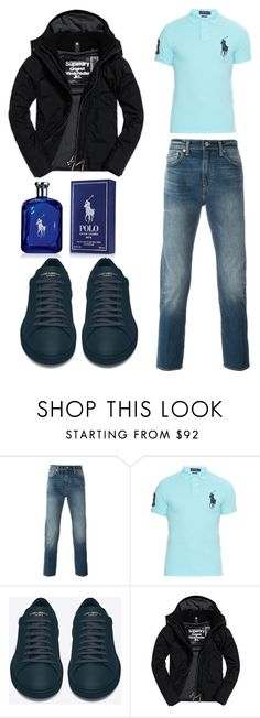 """Polo Anyone?"" by quasia-taylor on Polyvore featuring Levi's, Polo Ralph Lauren, Yves Saint Laurent, Superdry, Ralph Lauren, men's fashion and menswear"