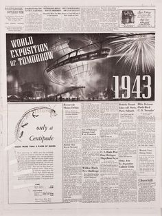 Bucky's newspaper from Captain America The First Avenger