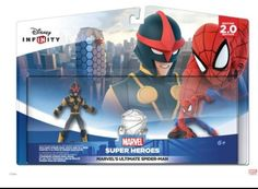 Disney Infinity MARVEL'S ULTIMATE SPIDER-MAN - Nova & Spider-man- Disney Infinity 2.0 #DisneyInfinity #MarvelSuperHeroes