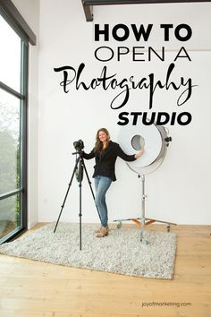 Before you take the leap into opening a studio, you need to make sure you've thought through the decision. I've seen many photographers prematurely open a photography studio and have the doors shut shortly after. They make the mistake of taking on unneces Photography Studio Spaces, Mixed Media Photography, Photography Lessons, Photography Equipment, Photography Backdrops, Photography Business, Light Photography, Digital Photography, Amazing Photography