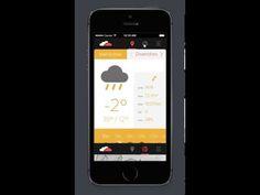 Clouds APP on App Design Served