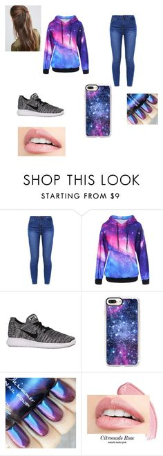 """""""Janey did this ;) :)"""" by layla-848 ❤ liked on Polyvore featuring NIKE, Casetify and DesignB London"""