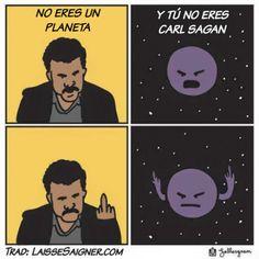 No eres un planeta. #humor #risa #graciosas #chistosas #divertidas