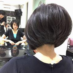Popular Short Haircuts 2018 – 2019 – The UnderCut Beliebte Kurzhaarschnitte 2018 – 2019 Asymmetrical Bob Haircuts, Layered Bob Haircuts, Layered Bob Hairstyles, Short Pixie Haircuts, Hairstyles Haircuts, Hairdos, Popular Short Haircuts, Short Hairstyles For Women, Latest Haircuts