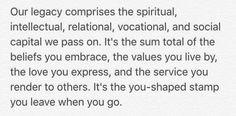 """Reflection from June 4, 2016 in Michael Hyatt's book """"Living Forward"""""""