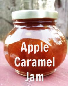 Apple Caramel jam
