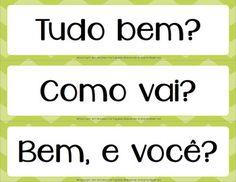 FREE Basic Expressions in Portuguese - expressões essenciais em português