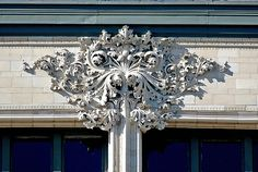 Louis Sullivan Gage Building Ornamental Detail