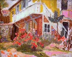 Pierre Bonnard (French, 1867-1947). Roulotte.