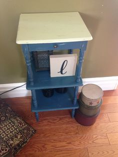Telephone Stand - Chalk Paint