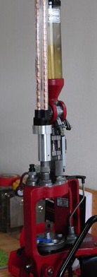 Lee Multi tube adapter Hornady LNL Dillon 650 bullet feeder adapter