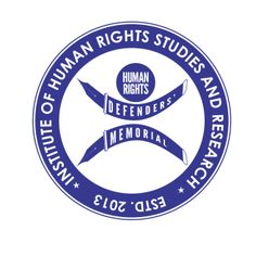 Its the official logo of Human Rights Defenders' Memorial Institute of Human Rights Studies and Research