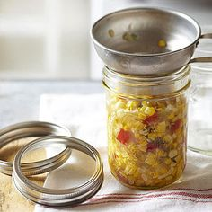 Mexican Corn Salsa --- Midwest Living July 2014