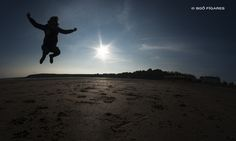 Jump in Barry Island (Cardiff. Wales)