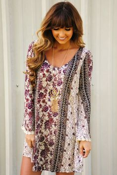 Share to save 10% on  your order instantly!  In A Daze Dress: Multi
