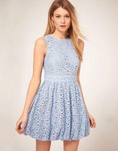 Vestido balonê azul - http://vestidododia.com.br/modelos-de-vestido/vestidos-balone/vestidos-balone/