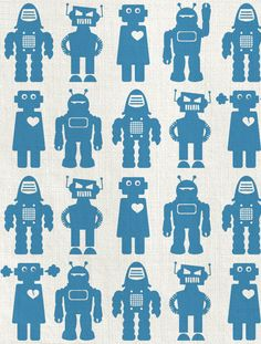 Solid Robots in Tin // Aimee Wilder