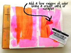 raemissigman - Blog - 15 minutes of mixed media - this post has lots of quick background ideas