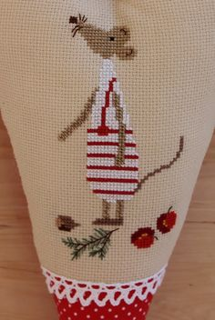 Vicky und Ricky: Hearts for Autumn and Winter, crossstitch from Christiane Dahlbeck books