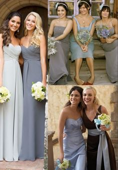 Funny  Unique  Silly Bridesmaid photo  Guava bridesmaid dresses from     robes chic grises pour demoiselles d honneur