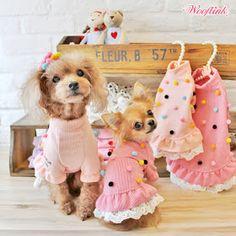 WOOFLINK - Hip designer dog clothes: POM POM ♥