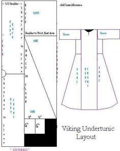 Society for Creative Anachronism; SCA; Costuming; Viking; Apron Dress; Handsewing; Embroidery