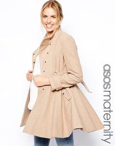 Asos Maternity beige coat