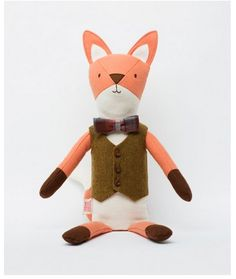 Henry the Fox stuffed toy