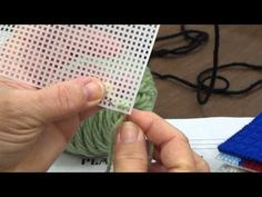 ▶ Basic Sewing Project - Plastic Canvas (Part 2 of 2) - YouTube