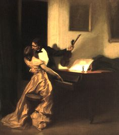 The Kreutzer Sonata by Francois Prinet 1901