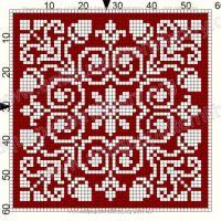 ru / Фото - Le Filet Ancien I - gabbach Cross Stitch Tree, Cross Stitch Borders, Cross Stitch Designs, Cross Stitching, Cross Stitch Embroidery, Cross Stitch Patterns, Crochet Cross, Crochet Chart, Filet Crochet
