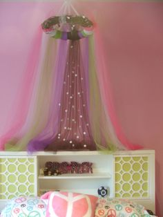 tulle canopy tutorial | Sewing/ crochet | Pinterest | Tulle canopy Canopy and Tutorials & tulle canopy tutorial | Sewing/ crochet | Pinterest | Tulle canopy ...
