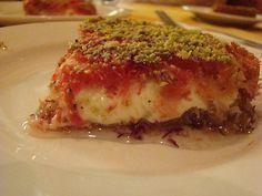 LEBANESE RECIPES: Kanafeh Recipe - How to Make Kanafeh