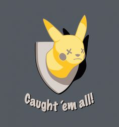 Caught 'em All - BustedTees