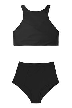 High-Waisted Bikinis Because You're Probably Ready for a Vacation 13 Flattering High Waisted Bikinis for Retro High-Waisted Style Flattering High Waisted Bikinis for Retro High-Waisted Style Swimsuits Bathing Suits For Teens, Swimsuits For Teens, Cute Bathing Suits, Cute Swimsuits, Women Swimsuits, Flattering Swimsuits, Summer Bathing Suits, Cute High Waisted Bikinis, Black High Waisted Swimsuit