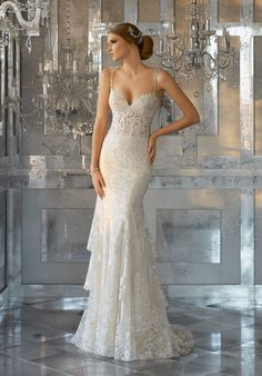 bdb3bde34f122 76 Best Mori Lee Bridal images in 2019 | Wedding dress styles, Alon ...